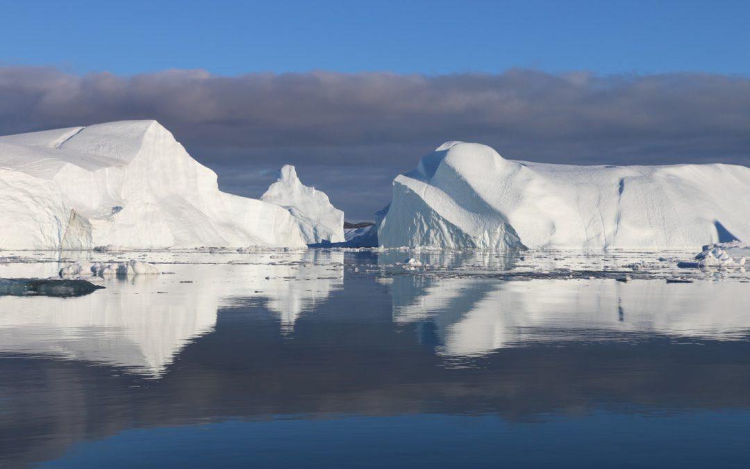 """El cambio climático está """"desvistiendo"""" al planeta de su hielo polar"""