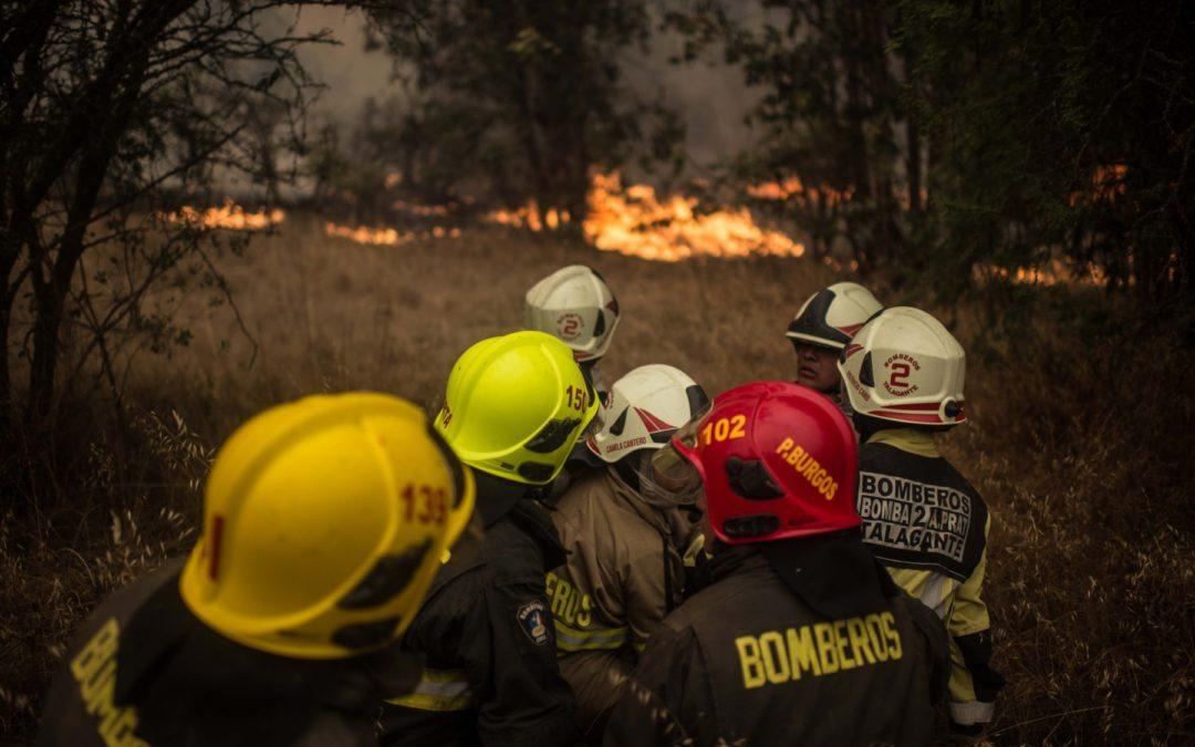 Voraces incendios provocan el mayor desastre forestal de la historia de Chile