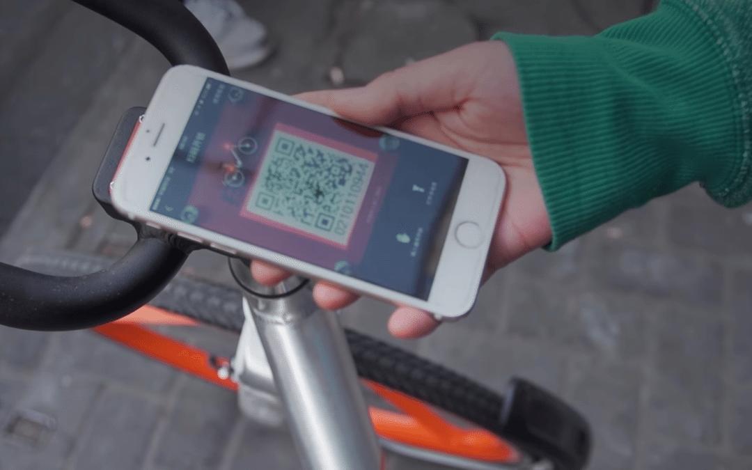 La bicicleta compartida 2.0 se pone de moda en China