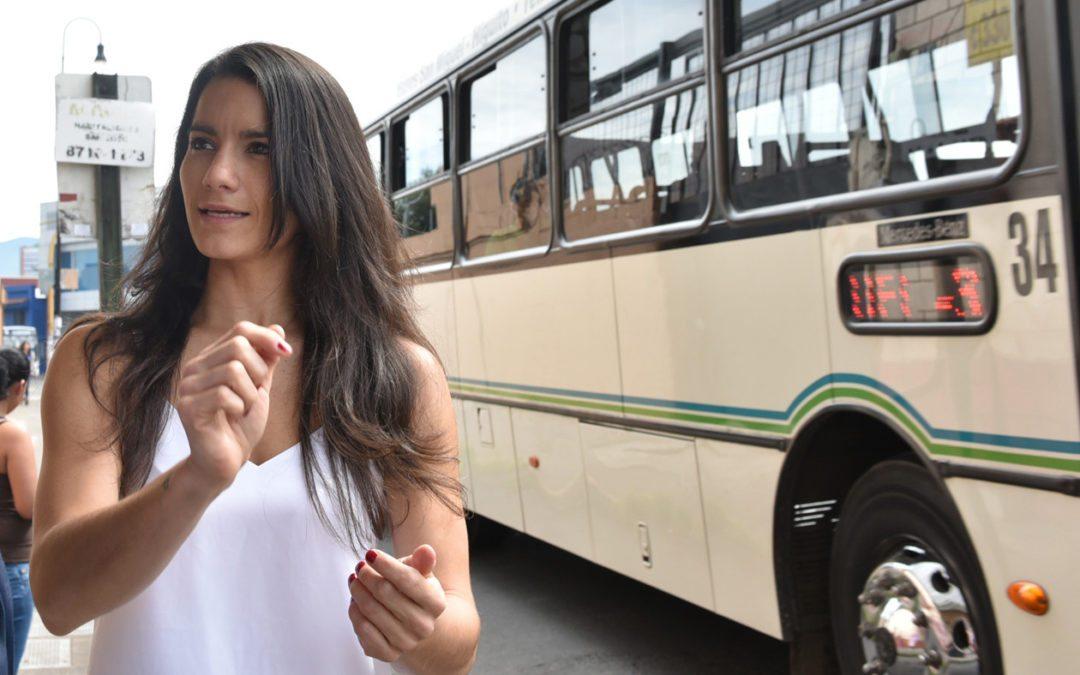 """Entrevista con la viceministra de Transportes, Liza Castillo """"El modelo carrocentrista nos lo vendieron como farsa de que es estatus social"""""""