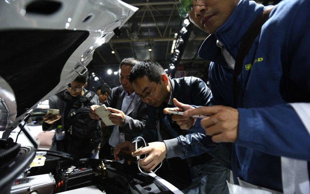 La amenaza de las cuotas impulsa la construcción de vehículos limpios en China