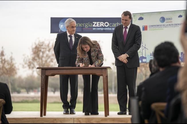 Chile anuncia plan para ser carbono neutral en el 2050