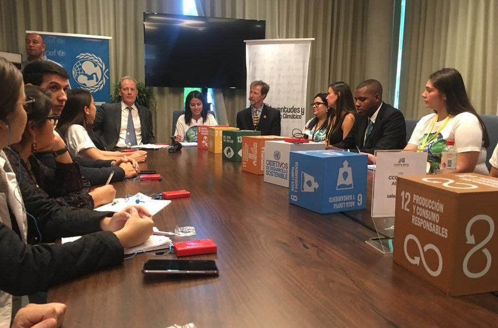 En la PreCOP25, jóvenes de toda América Latina entraron en las mesas de negociación