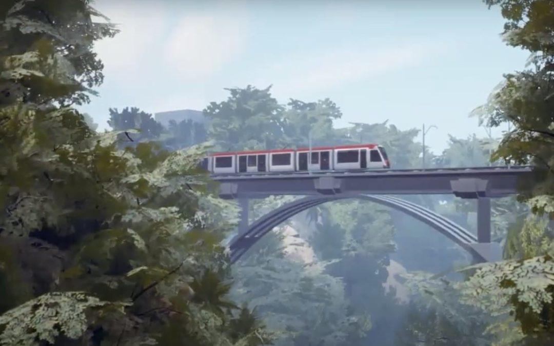 Tren eléctrico de pasajeros será referente en Centroamérica