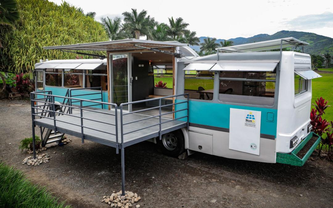 Iniciativa se enmarca en el movimiento mundial de tinyhouses Francesco Bracci convierte buses en casas en una apuesta por la sostenibilidad