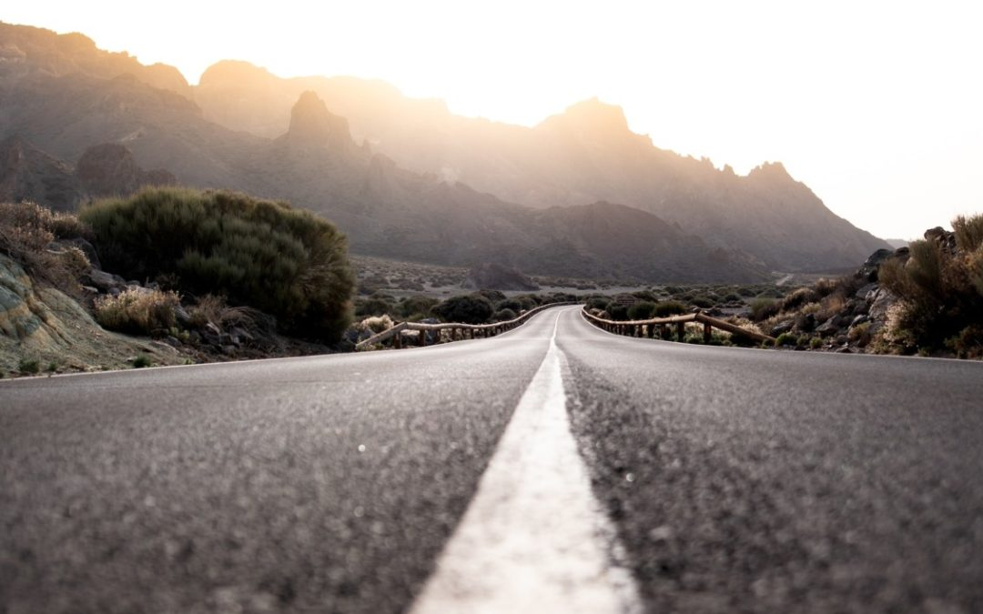 El asfalto emite partículas que también contaminan el aire