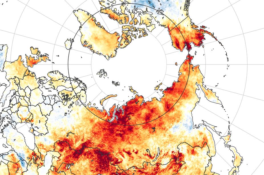 RESUMEN 2020 Cambio climático impulsó prolongado calor en el ártico siberiano