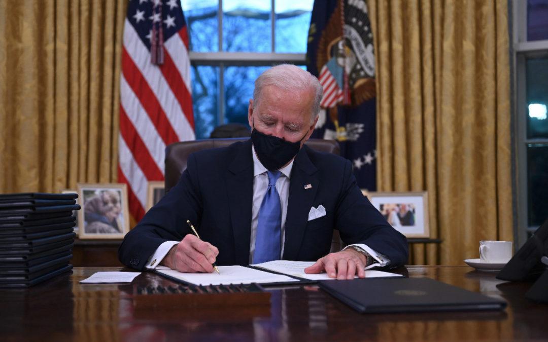 Firma del decreto fue de las primeras acciones del nuevo presidente Joe Biden Estados Unidos vuelve adherirse al Acuerdo de París