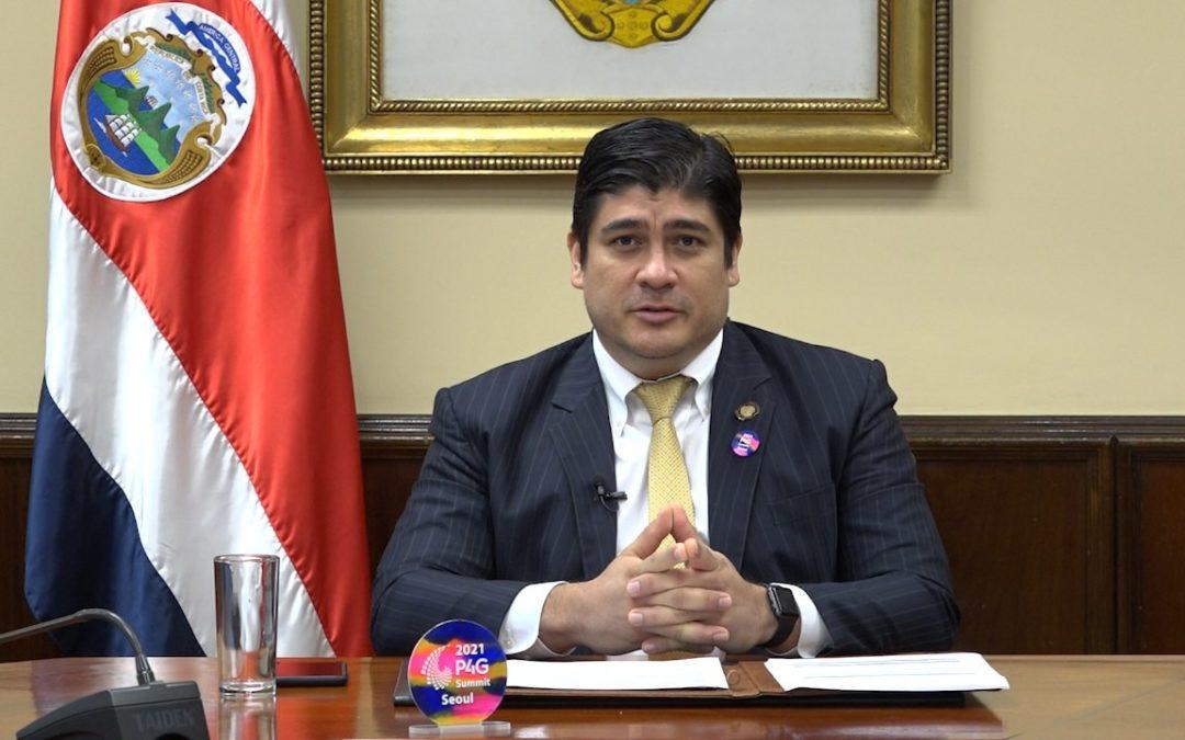 Costa Rica se suma a la Declaración de Seúl Alianzas público-privadas: una estrategia para incrementar el financiamiento de la acción climática