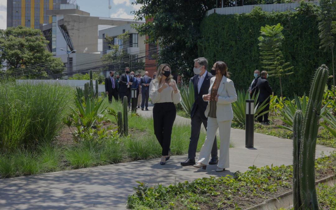 Visita del Secretario de Estado de EE.UU., Anthony Blinken, a Costa Rica Ciudades más verdes: una de las estrategias en pos de la descarbonización