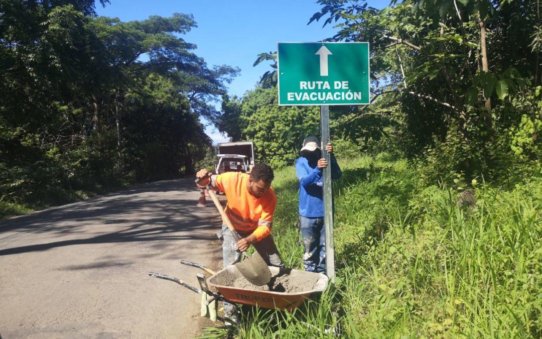 Ubicados en Zona Norte, Pacífico Norte y Puntarenas 11 cantones del país implementaron sistema de alerta temprana para control de inundaciones