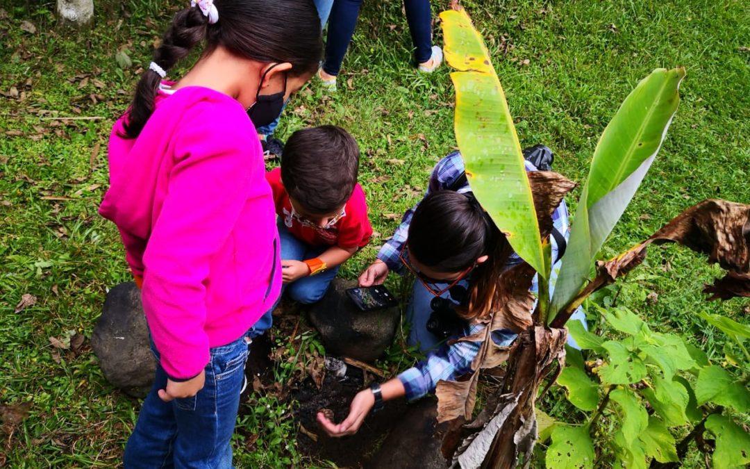 Ya realizaron primera jornada de monitoreo ecológico Mujeres emprendedoras inventariaron biodiversidad con miras a conservar el corredor biológico María Aguilar