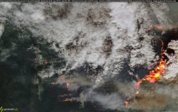 Satélites reportan incendios en Estados Unidos, Canadá y Rusia Incendios forestales boreales inician su temporada con gran intensidad