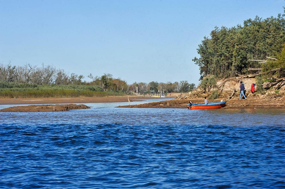 Las bajantes extremas del río Paraná serán cada vez más frecuentes por el cambio climático